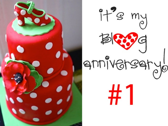 It's my BLOG anniversary + a GIVEAWAY!