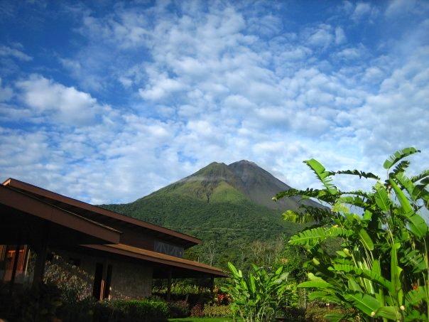 Volcán Arenal desde Hotel Silencio del Campo